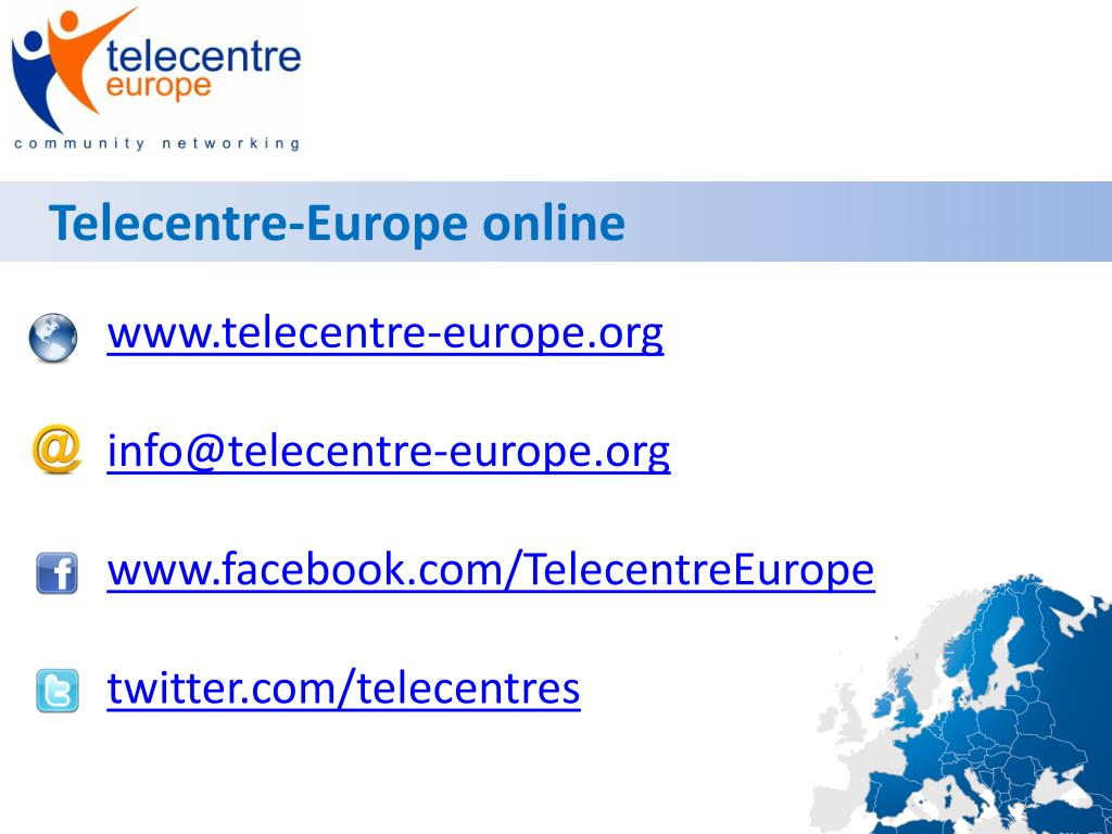 Telecentre-Europe online