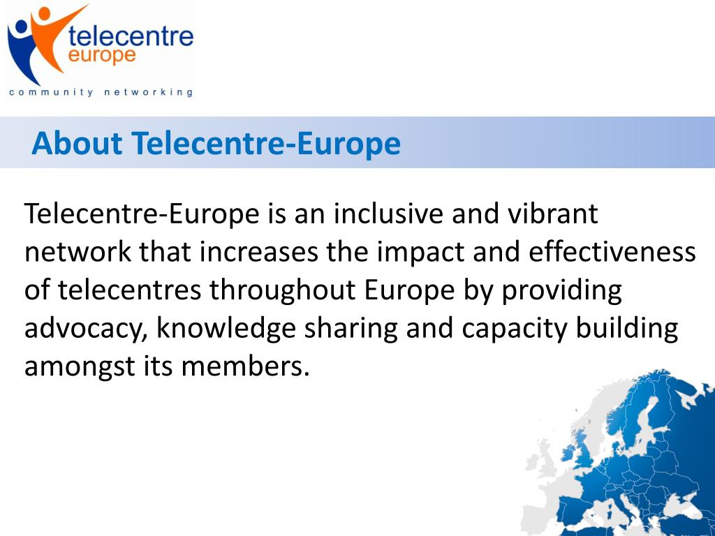 About Telecentre-Europe
