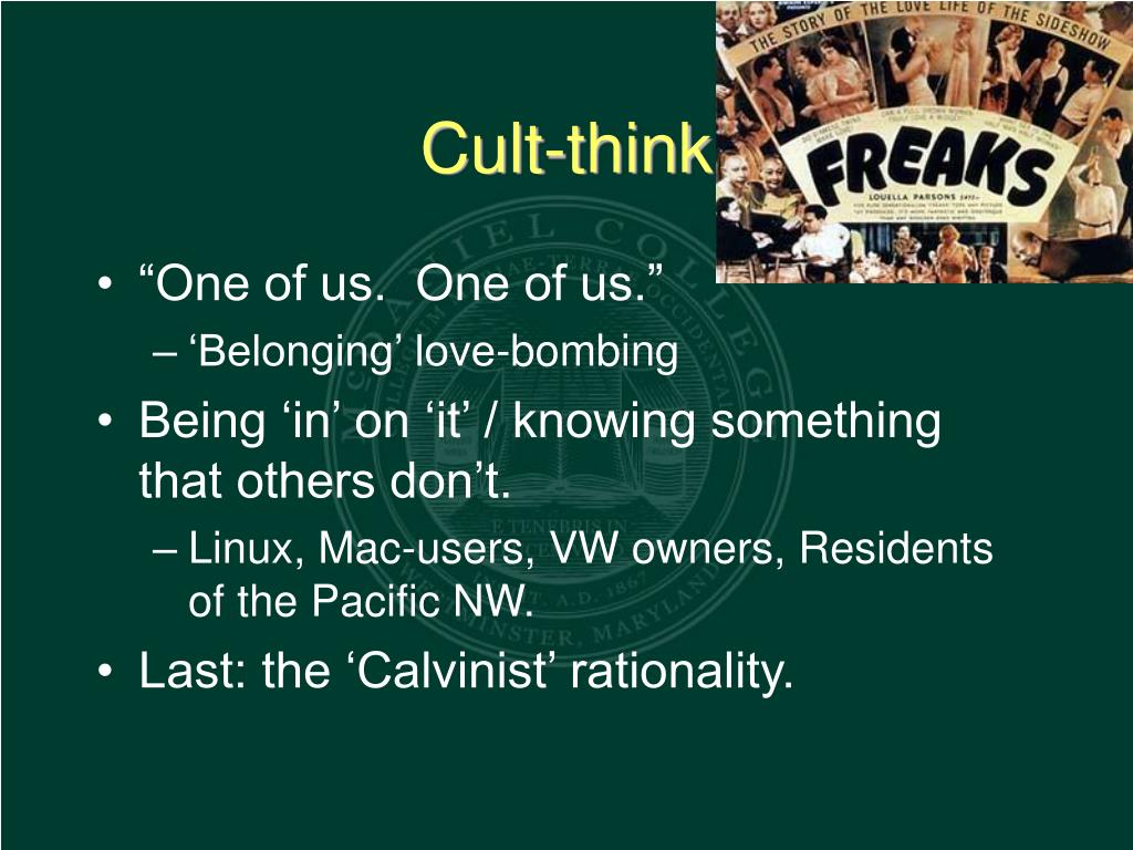 Cult-think