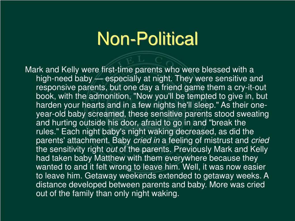 Non-Political