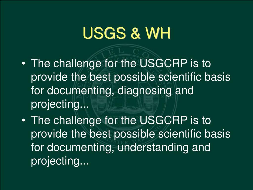 USGS & WH