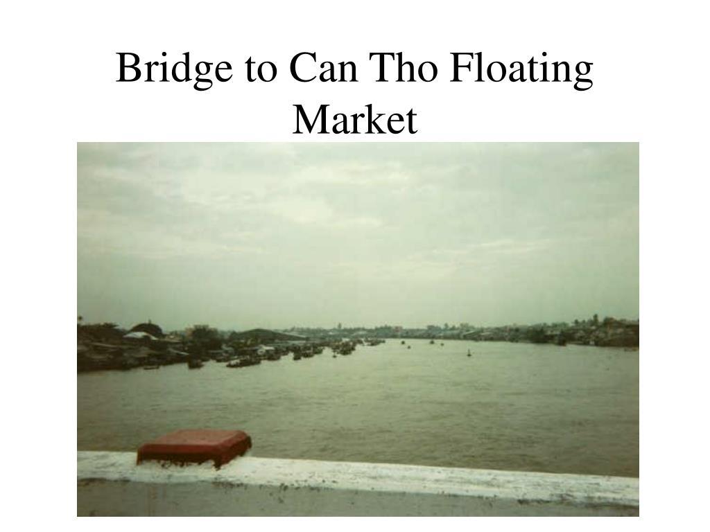 Bridge to Can Tho Floating Market