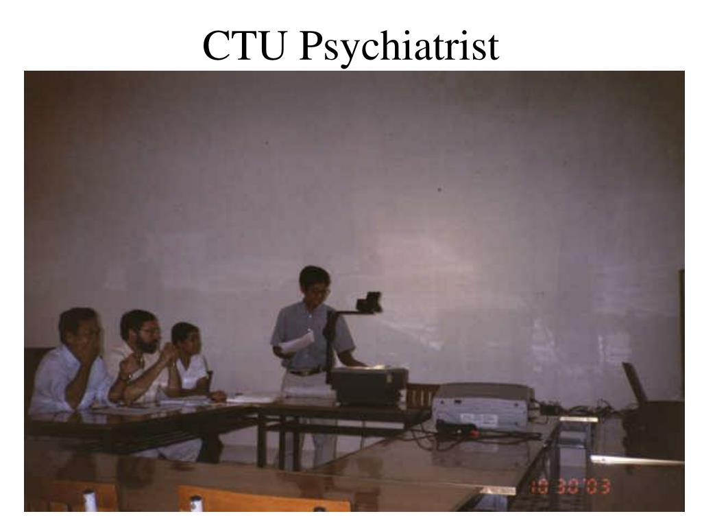 CTU Psychiatrist