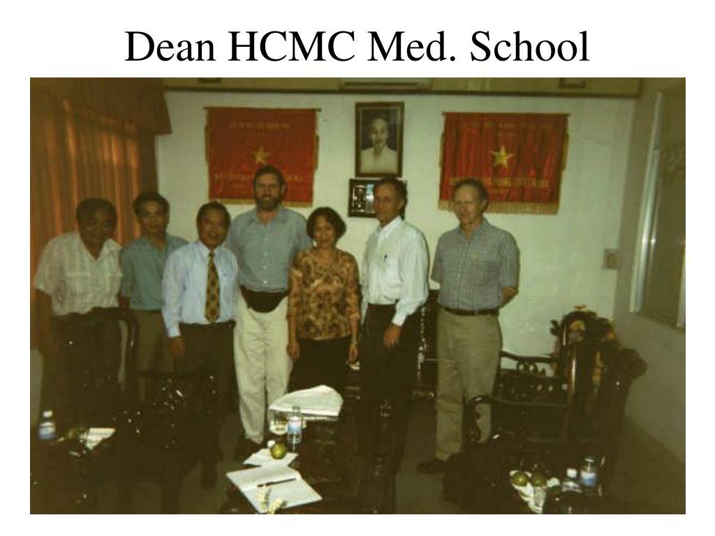 Dean HCMC Med. School