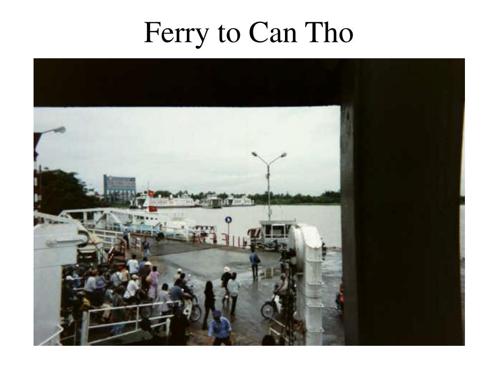 Ferry to Can Tho