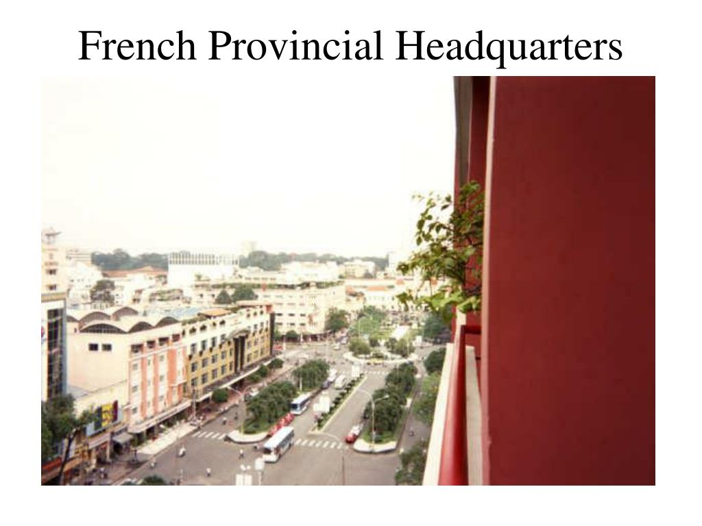 French Provincial Headquarters