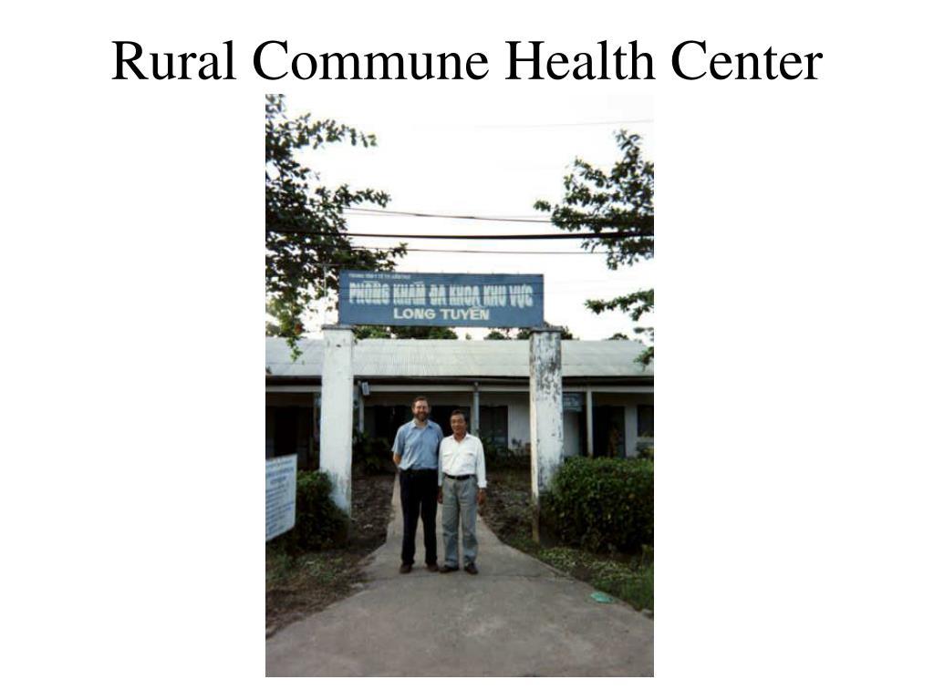 Rural Commune Health Center