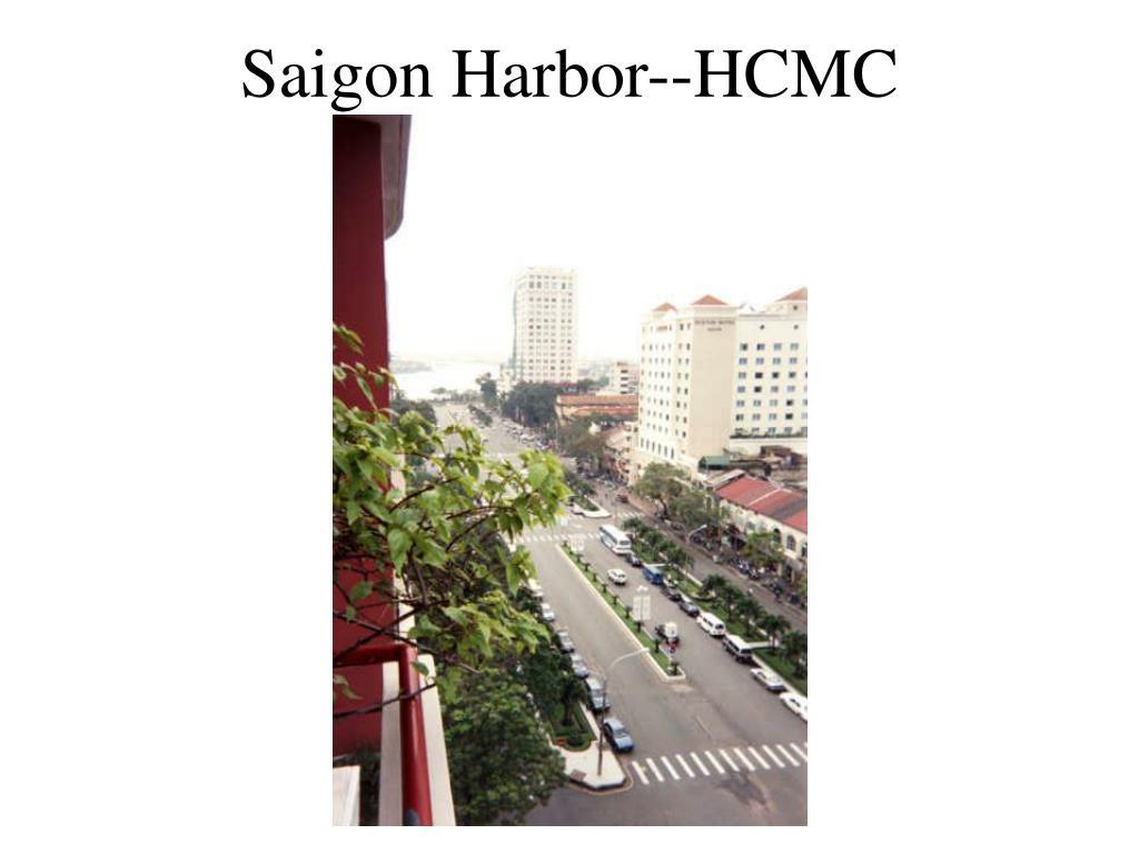 Saigon Harbor--HCMC