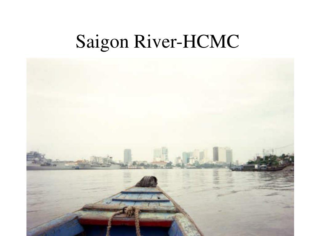 Saigon River-HCMC