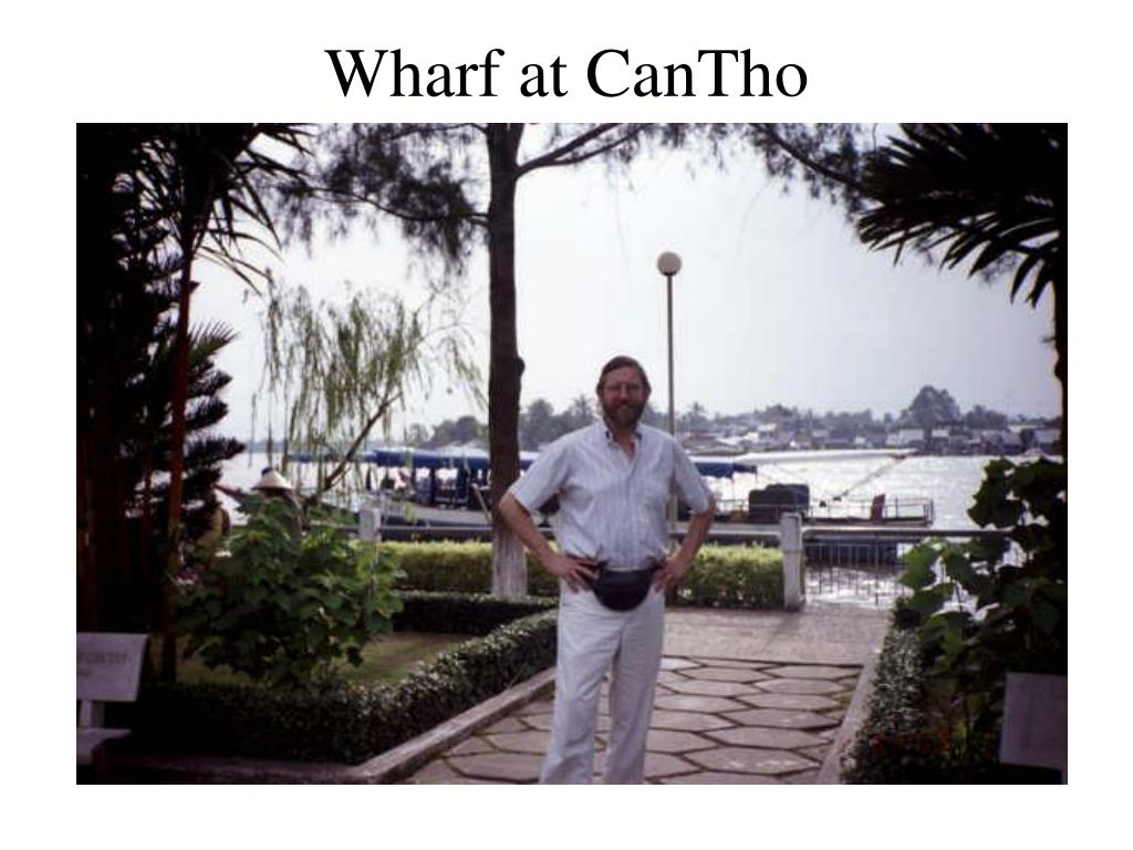Wharf at CanTho