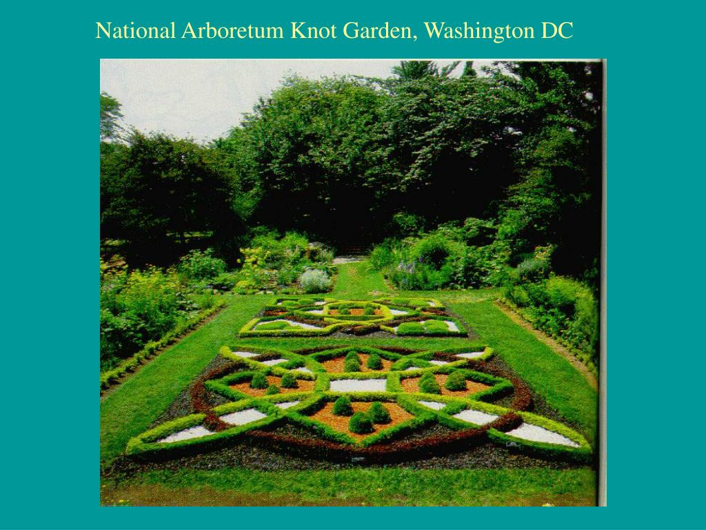 National Arboretum Knot Garden, Washington DC