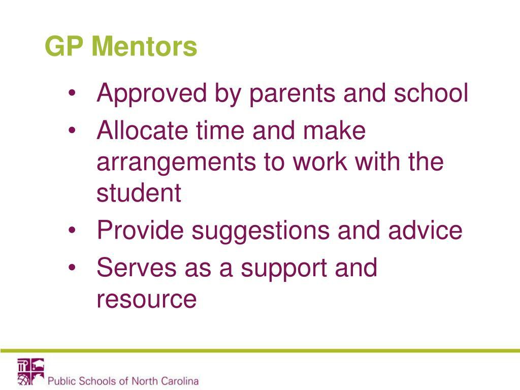 GP Mentors