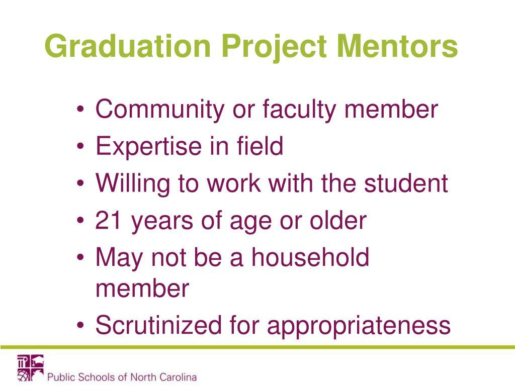 Graduation Project Mentors