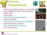science competitions