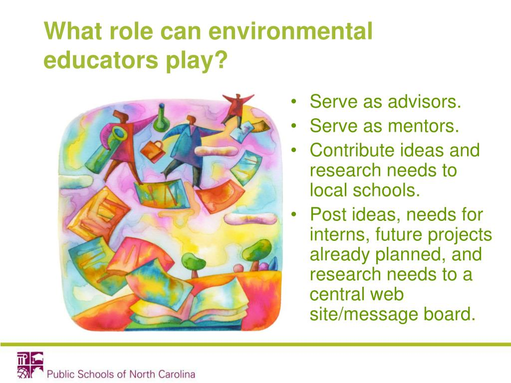 What role can environmental educators play?