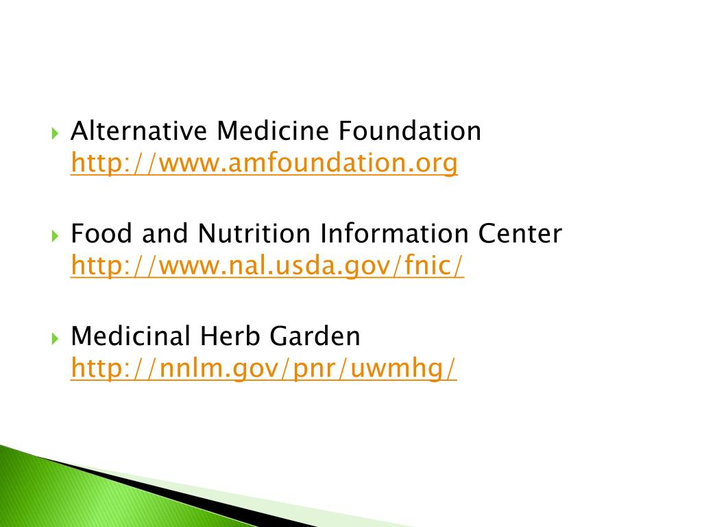 Alternative Medicine Foundation