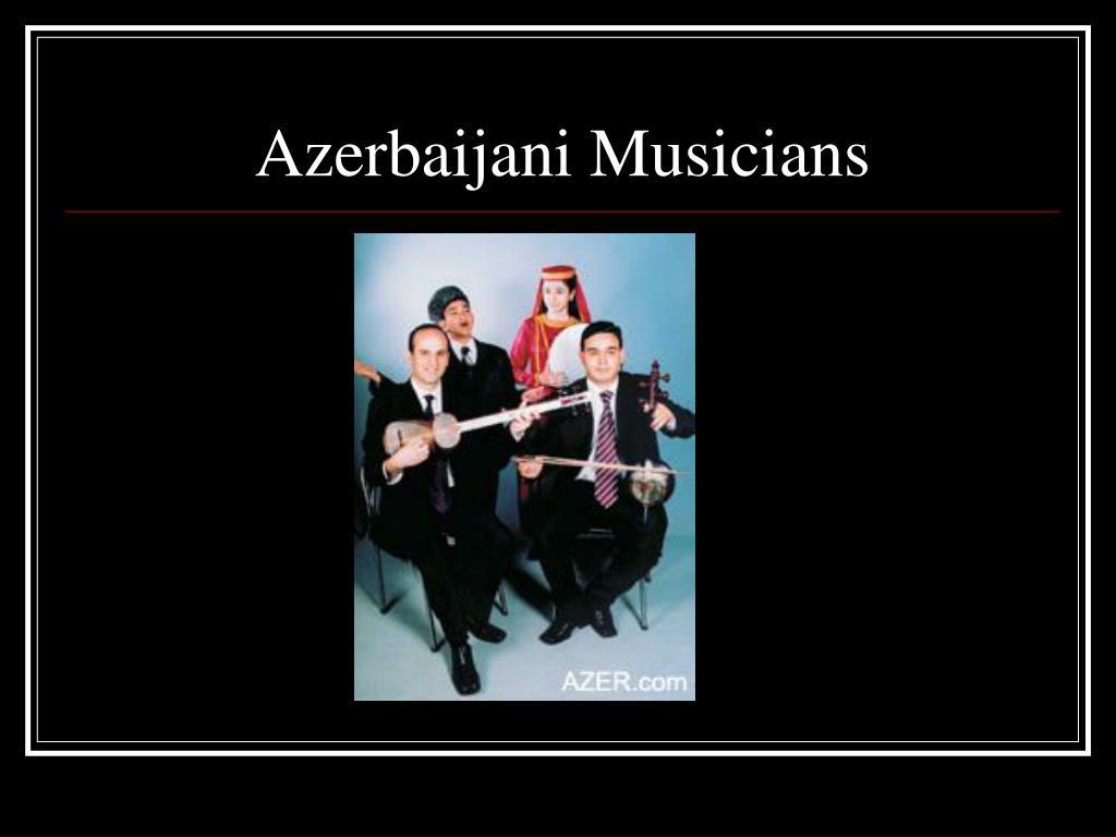 Azerbaijani Musicians