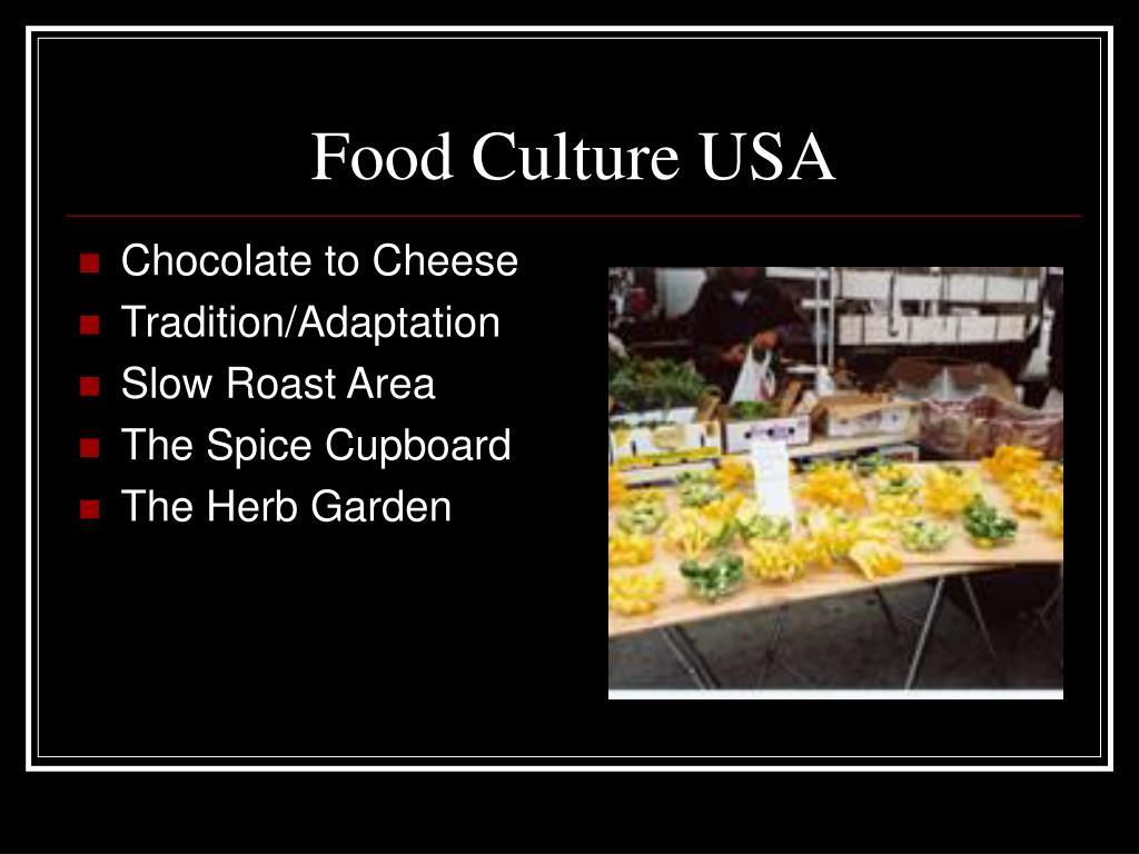 Food Culture USA