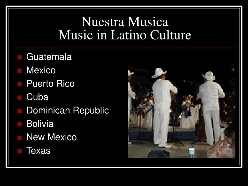 Nuestra Musica
