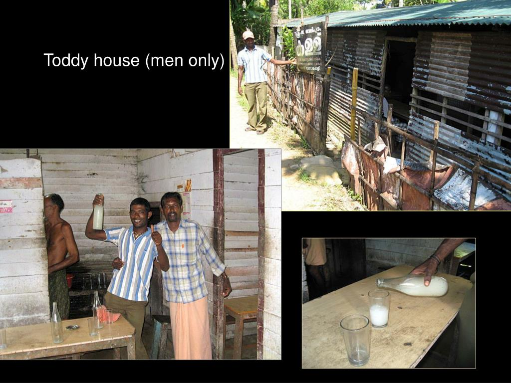 Toddy house (men only)