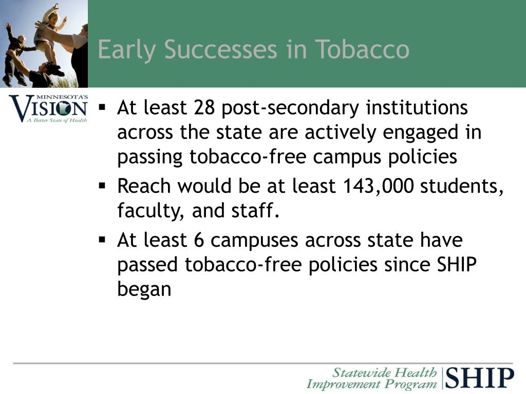 Early Successes in Tobacco