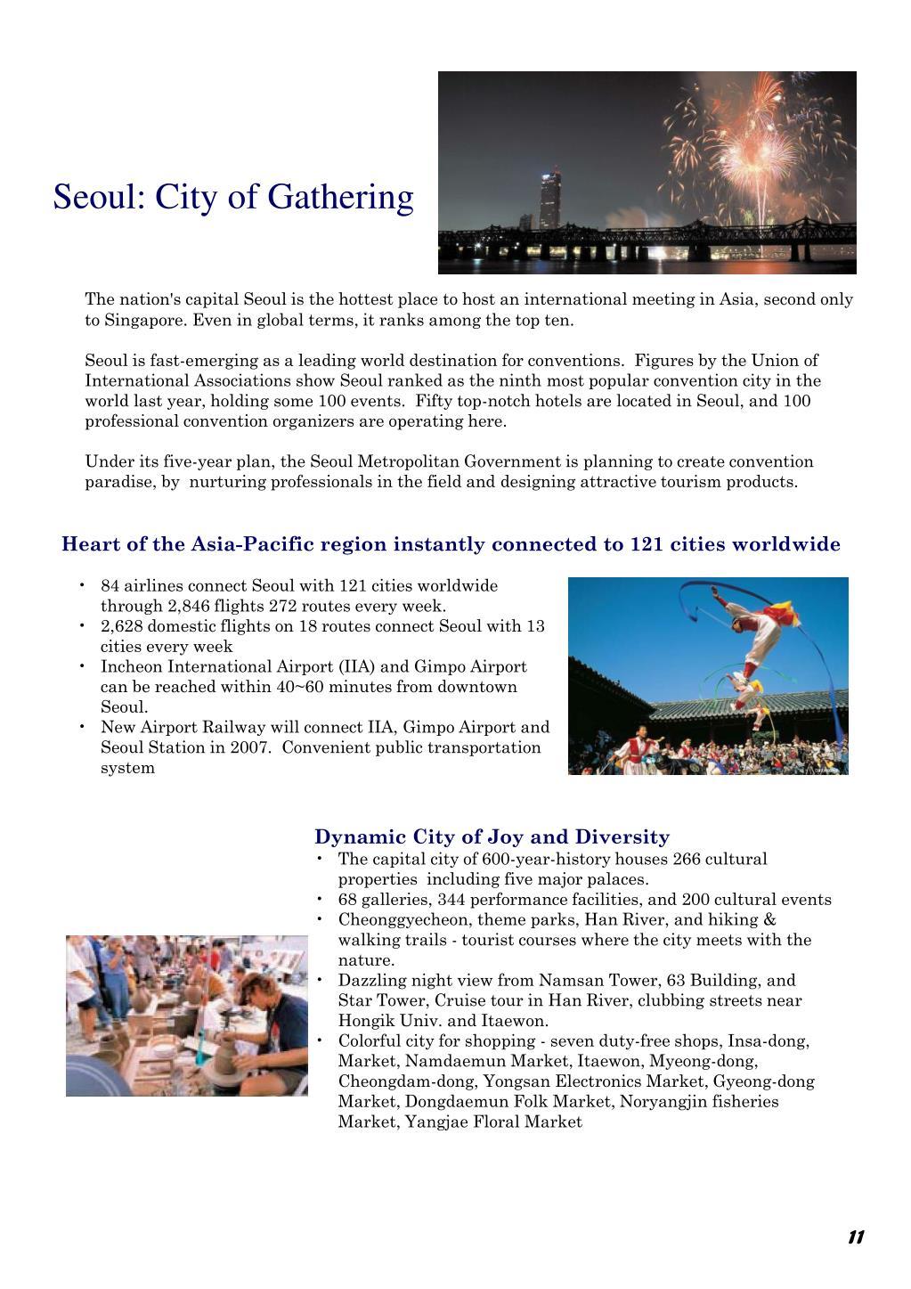 Seoul: City of Gathering