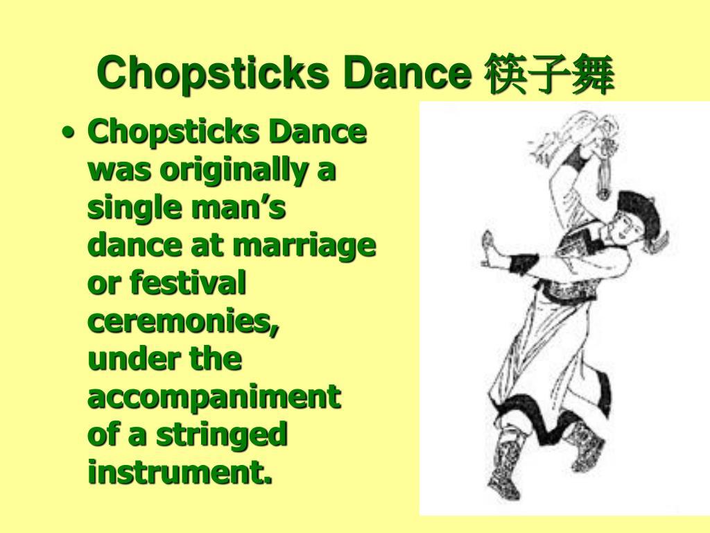 Chopsticks Dance