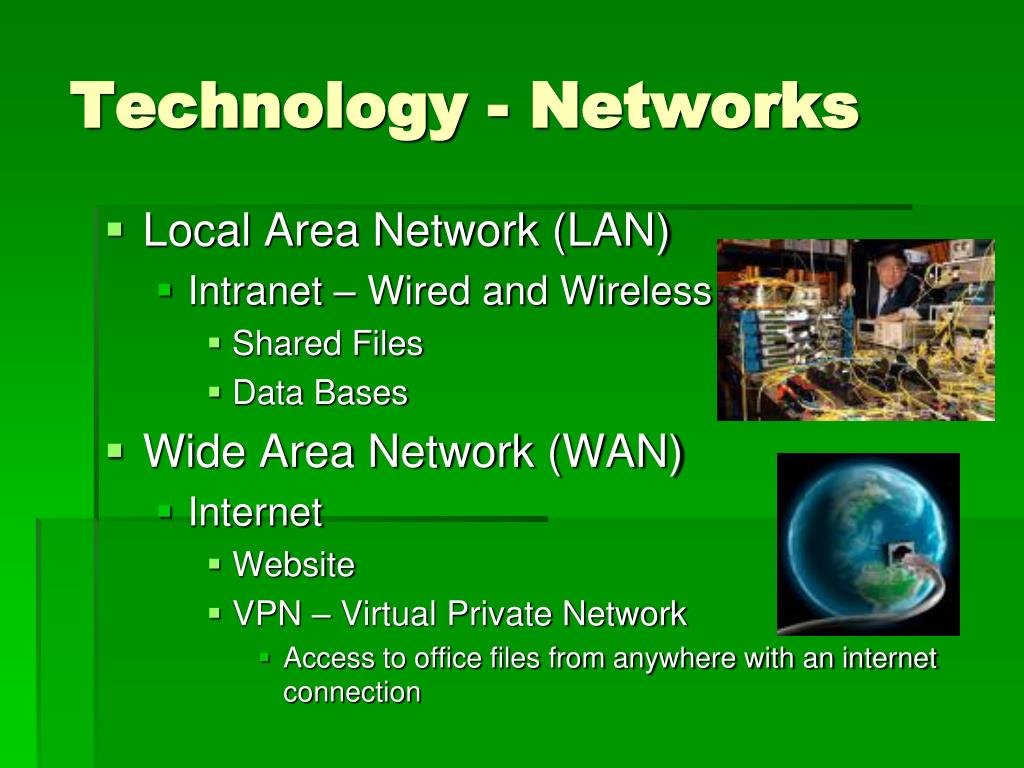 Technology - Networks