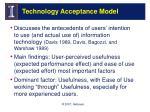 technology acceptance model