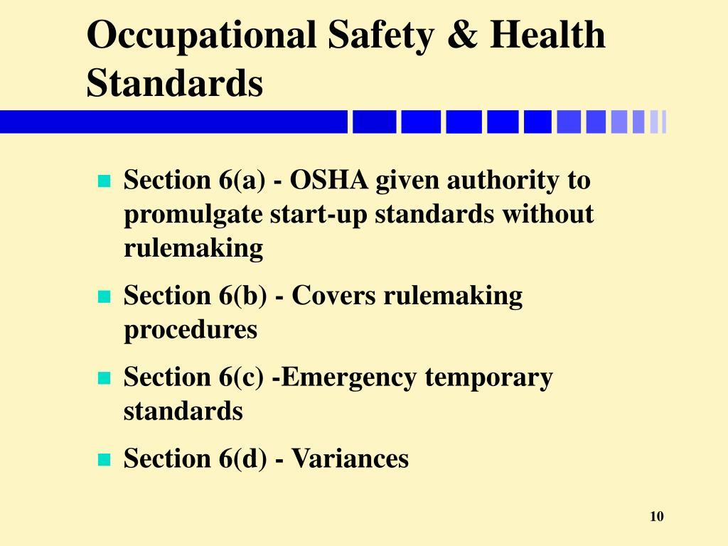 National Occupational Standards