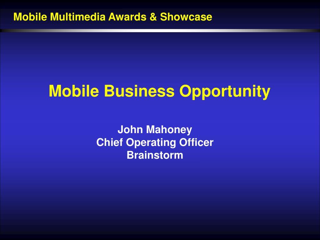 Mobile Multimedia Awards & Showcase