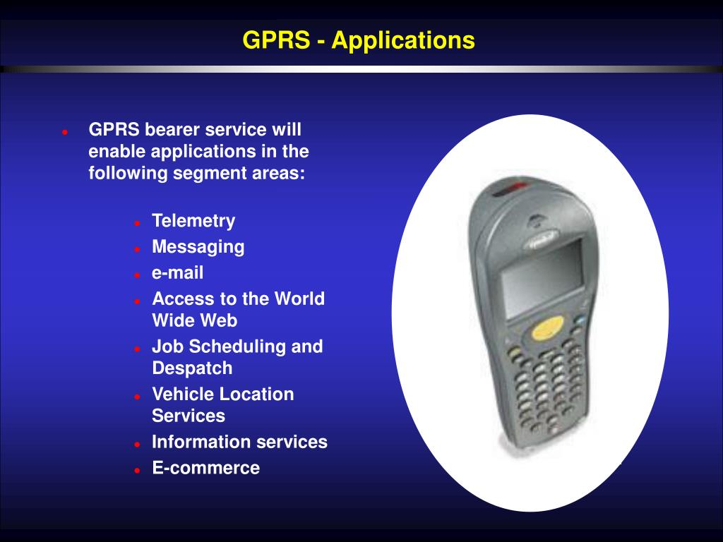GPRS - Applications
