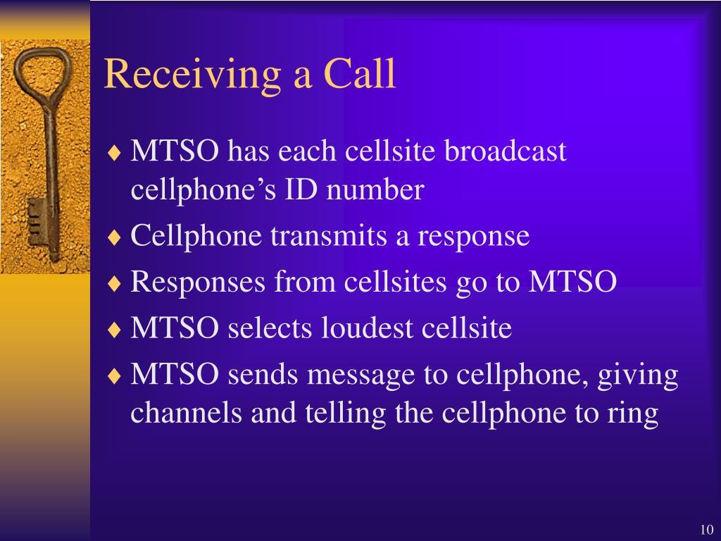 Receiving a Call