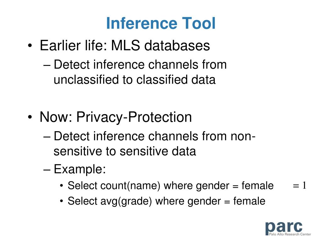 Inference Tool