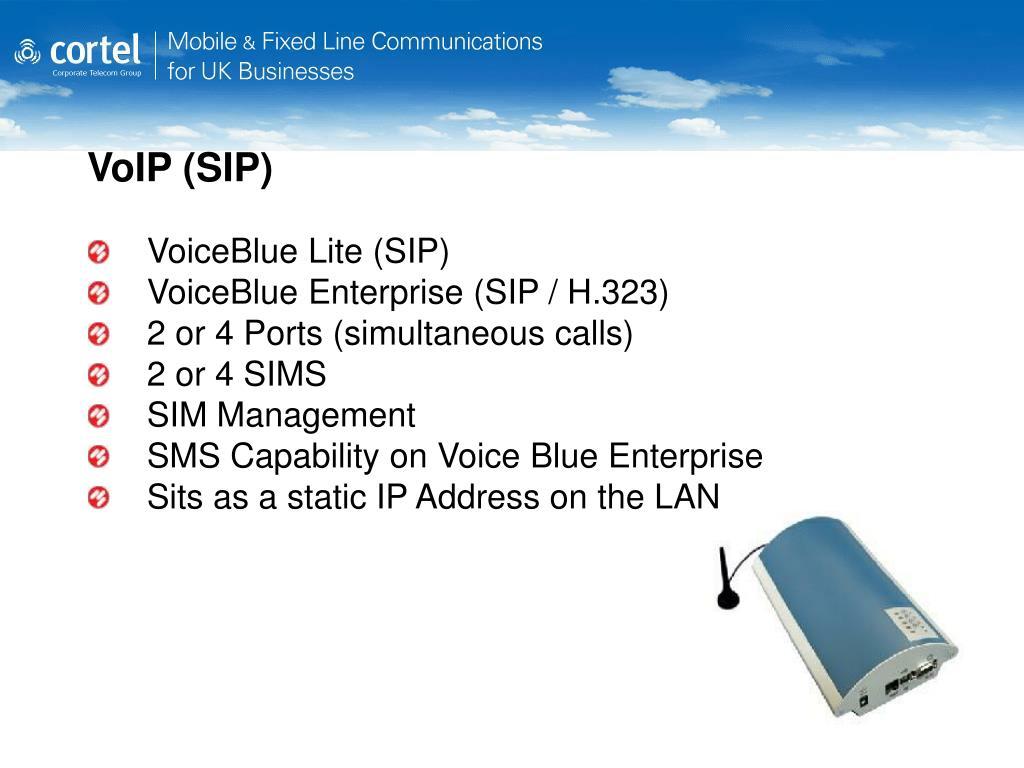 VoIP (SIP)