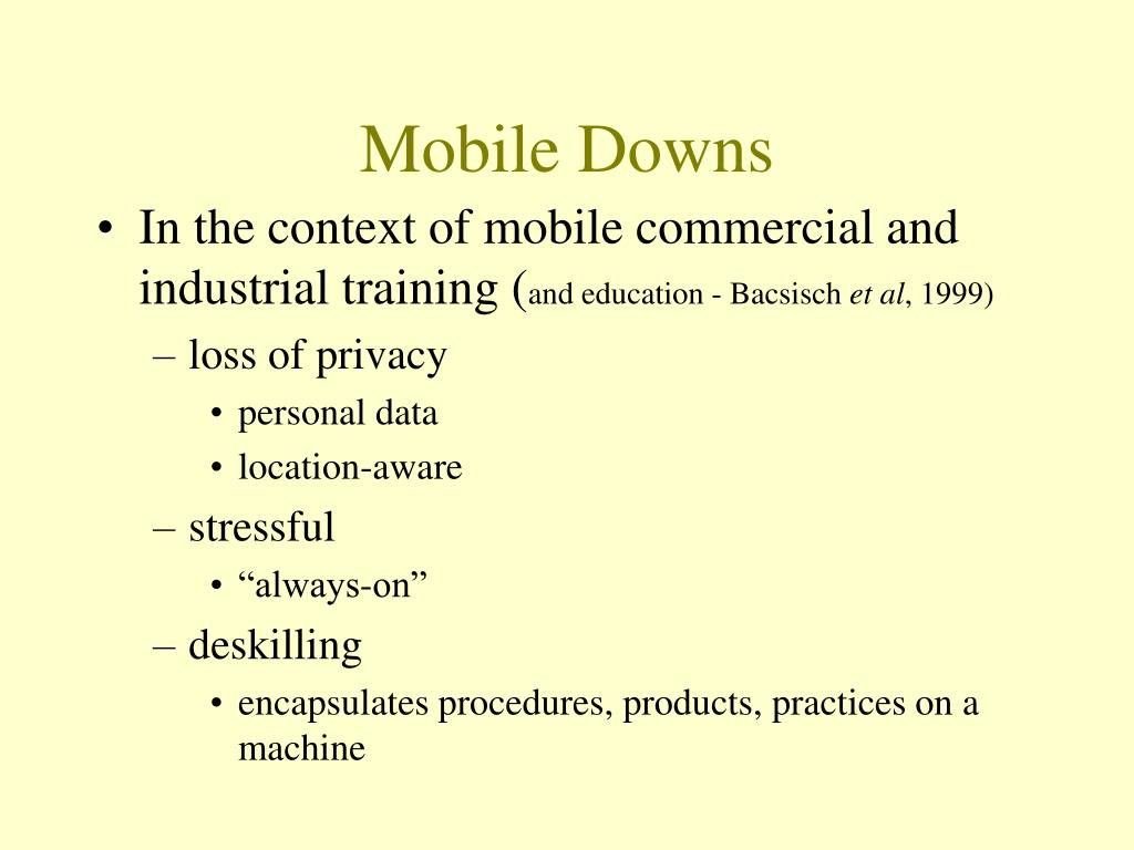 Mobile Downs