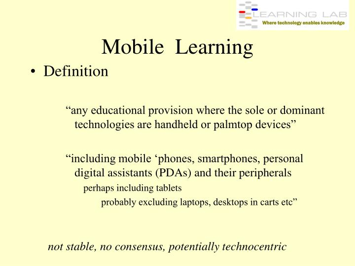 Mobile learning3