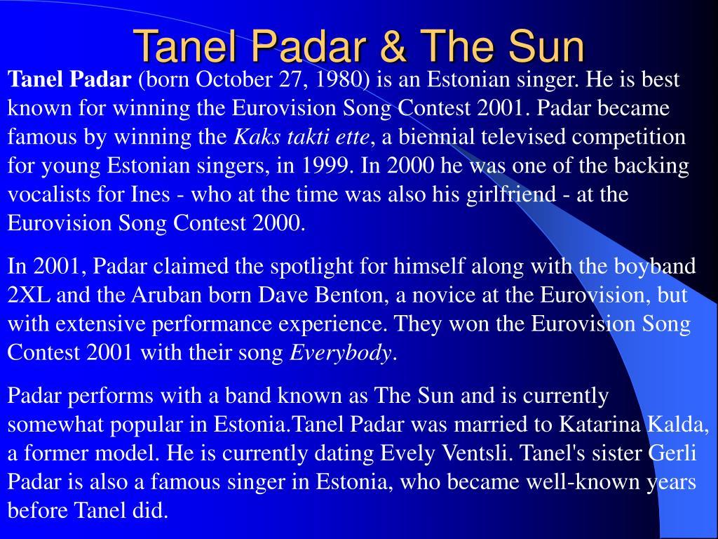 Tanel Padar & The Sun