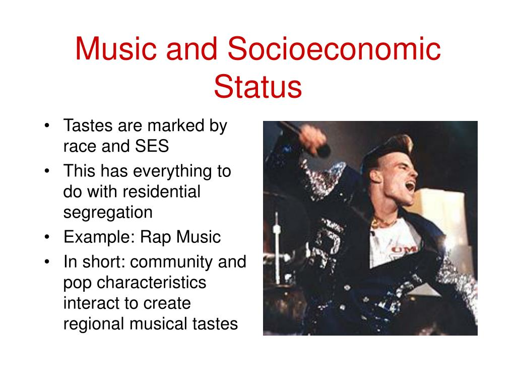 Music and Socioeconomic Status