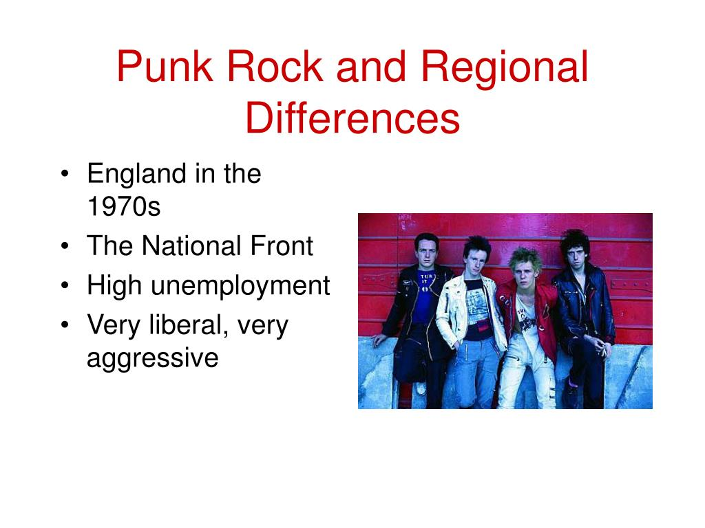 Punk Rock and Regional Differences