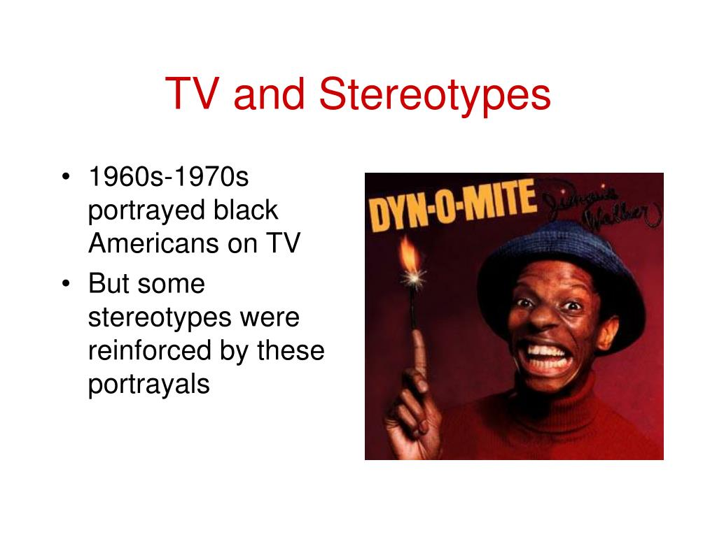 TV and Stereotypes