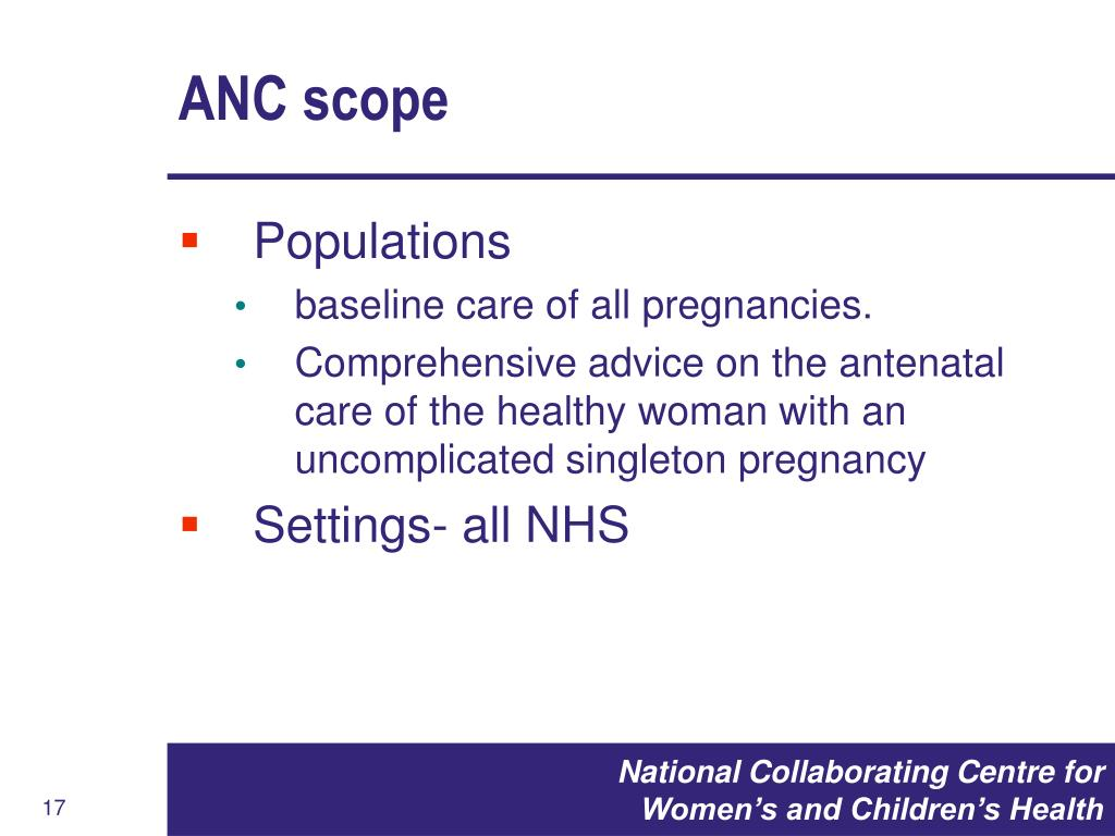 ANC scope