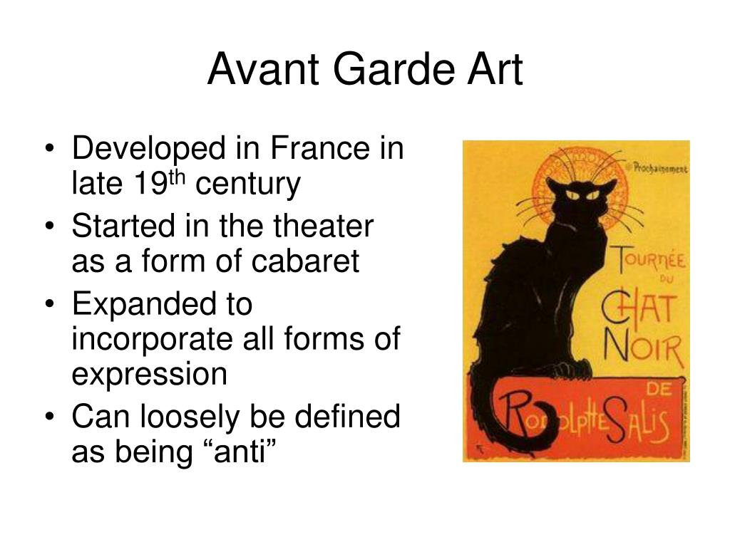 Avant Garde Art