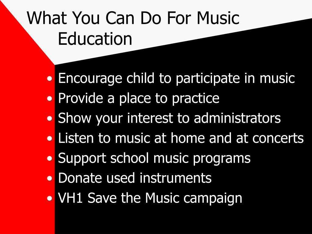 What You Can Do For Music  Education