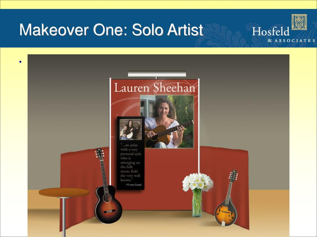 Makeover One: Solo Artist