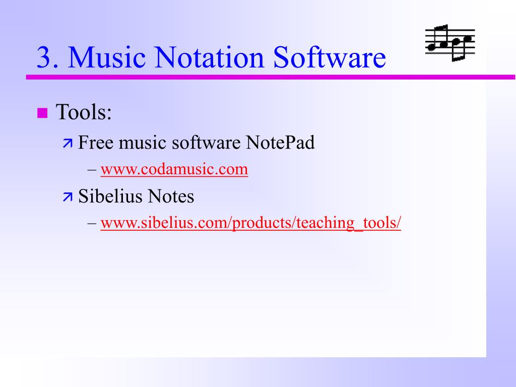 3. Music Notation Software