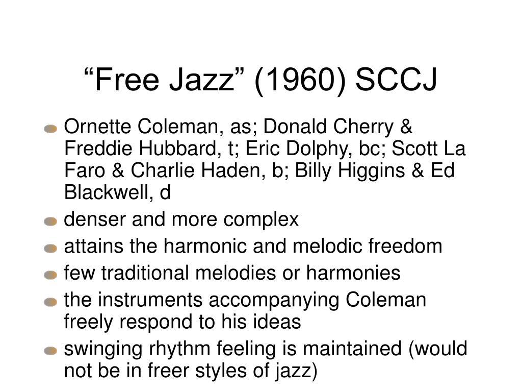 """""""Free Jazz"""" (1960) SCCJ"""