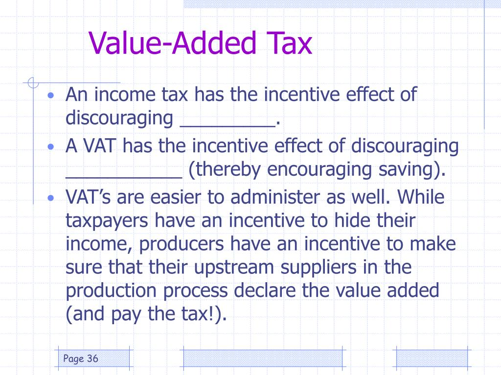 Value-Added Tax