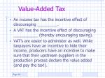 value added tax36