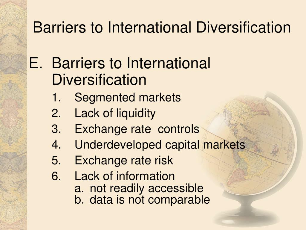 Barriers to International Diversification